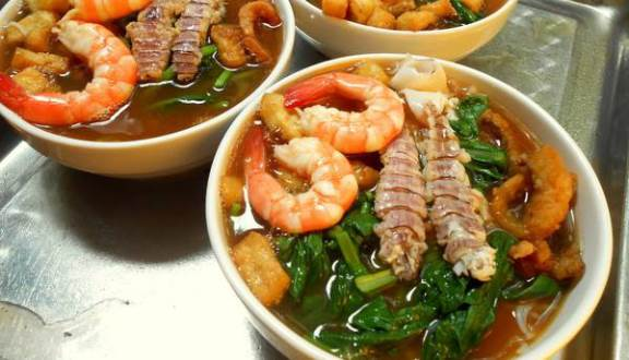 bún hải sản Quảng Ninh thơm ngon