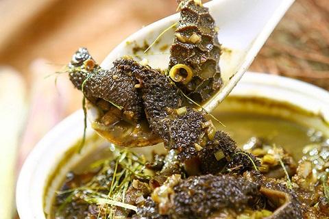 nậm pịa là món ăn của dân tộc Thái, Mộc Châu